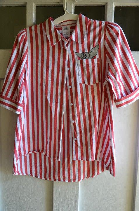 Disney Dumbo Striped Button Up Shirt