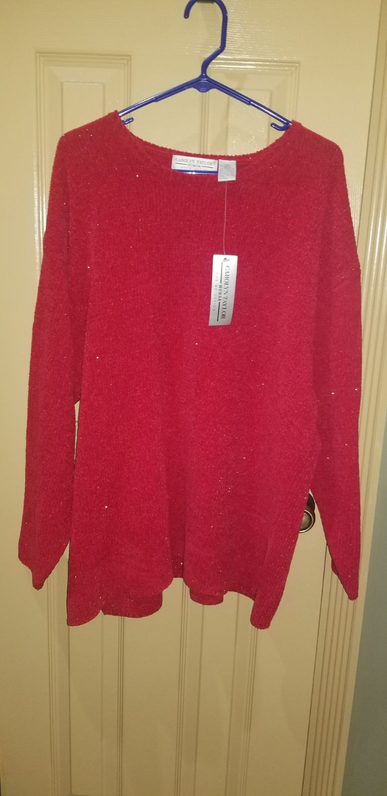 3X Carolyn Taylor sweater-NWT's