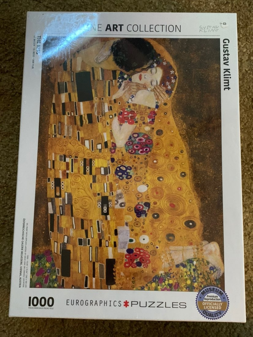 Fine Art Collection Gustave Klimt Puzzle