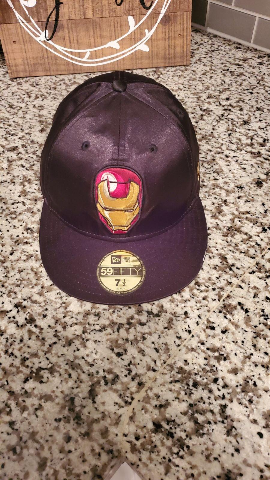 Iron Man new era hat 7 1/2