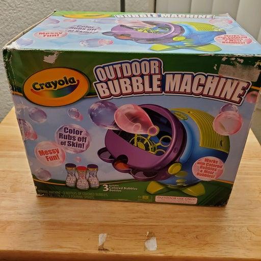 NEW BUBBLE MACHINE