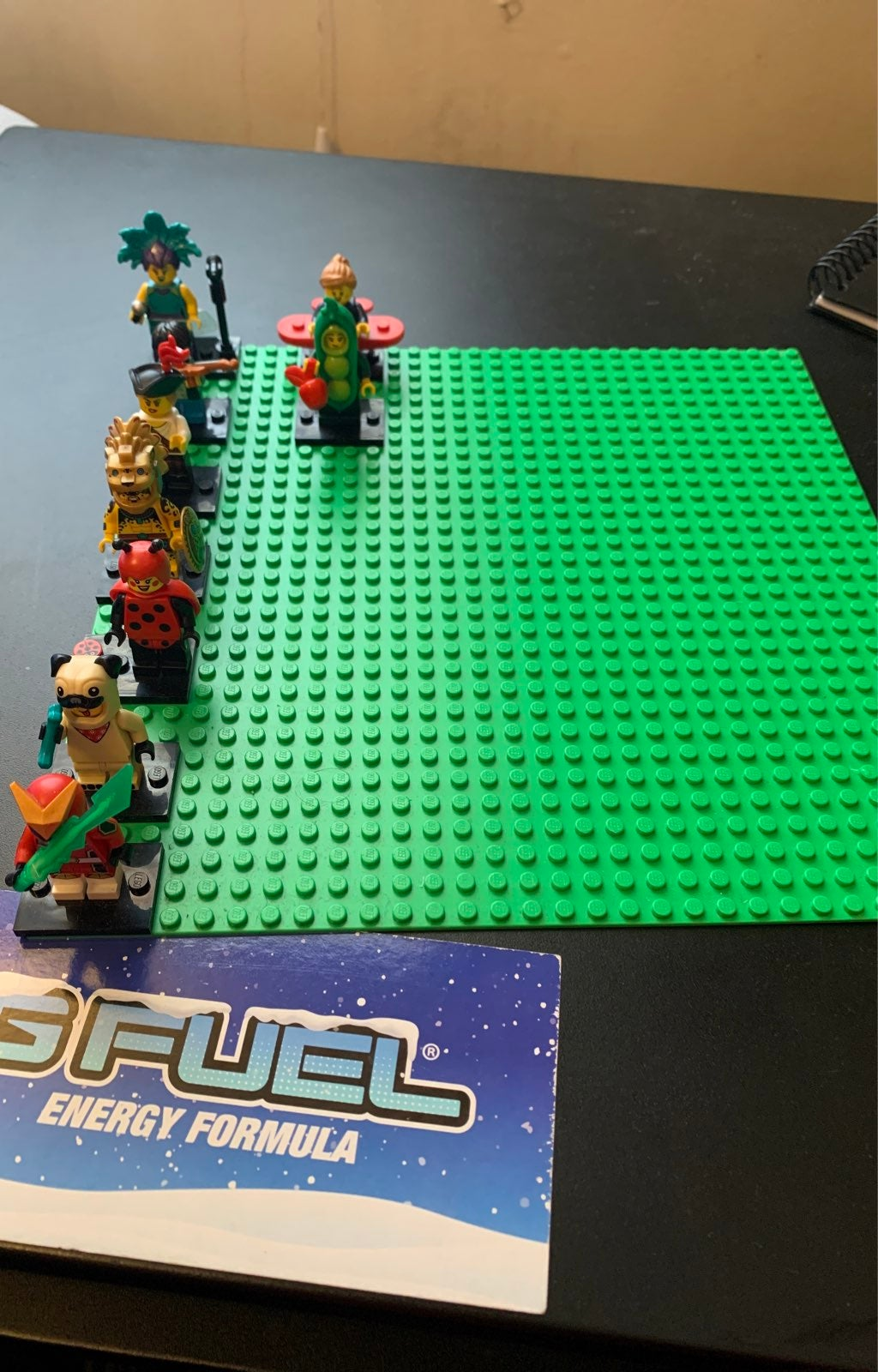 Lego Series 20 and 21 CMF figures and ba