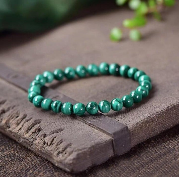 Retro Malachite Bracelet for Women +Gift Pouch