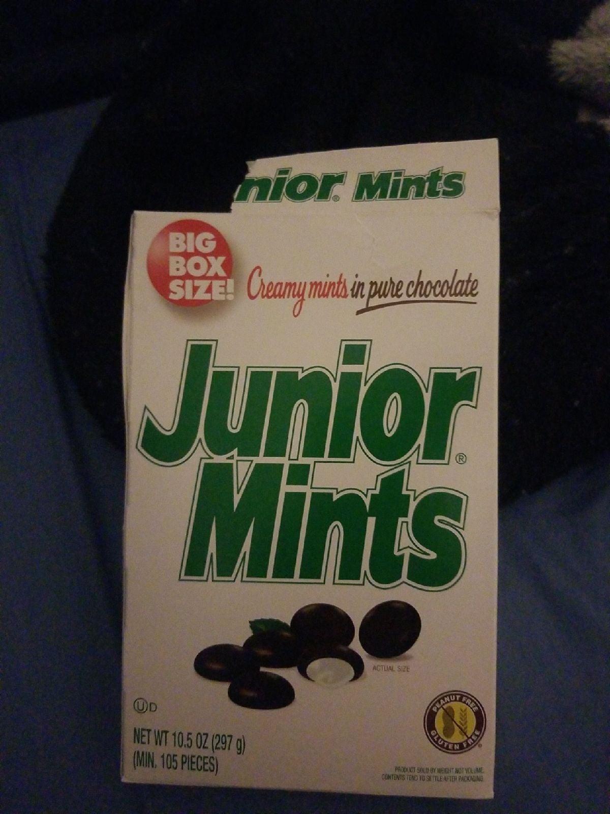 Open box of mints