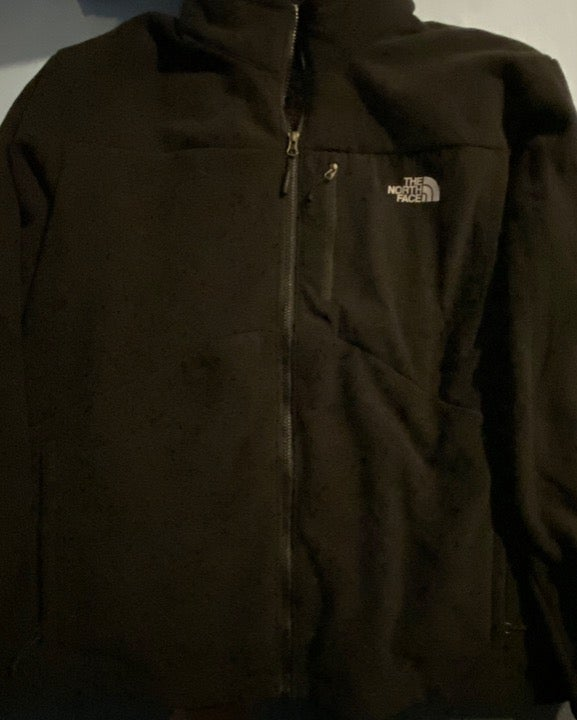 Mens XXL Black fleece North Face jacket