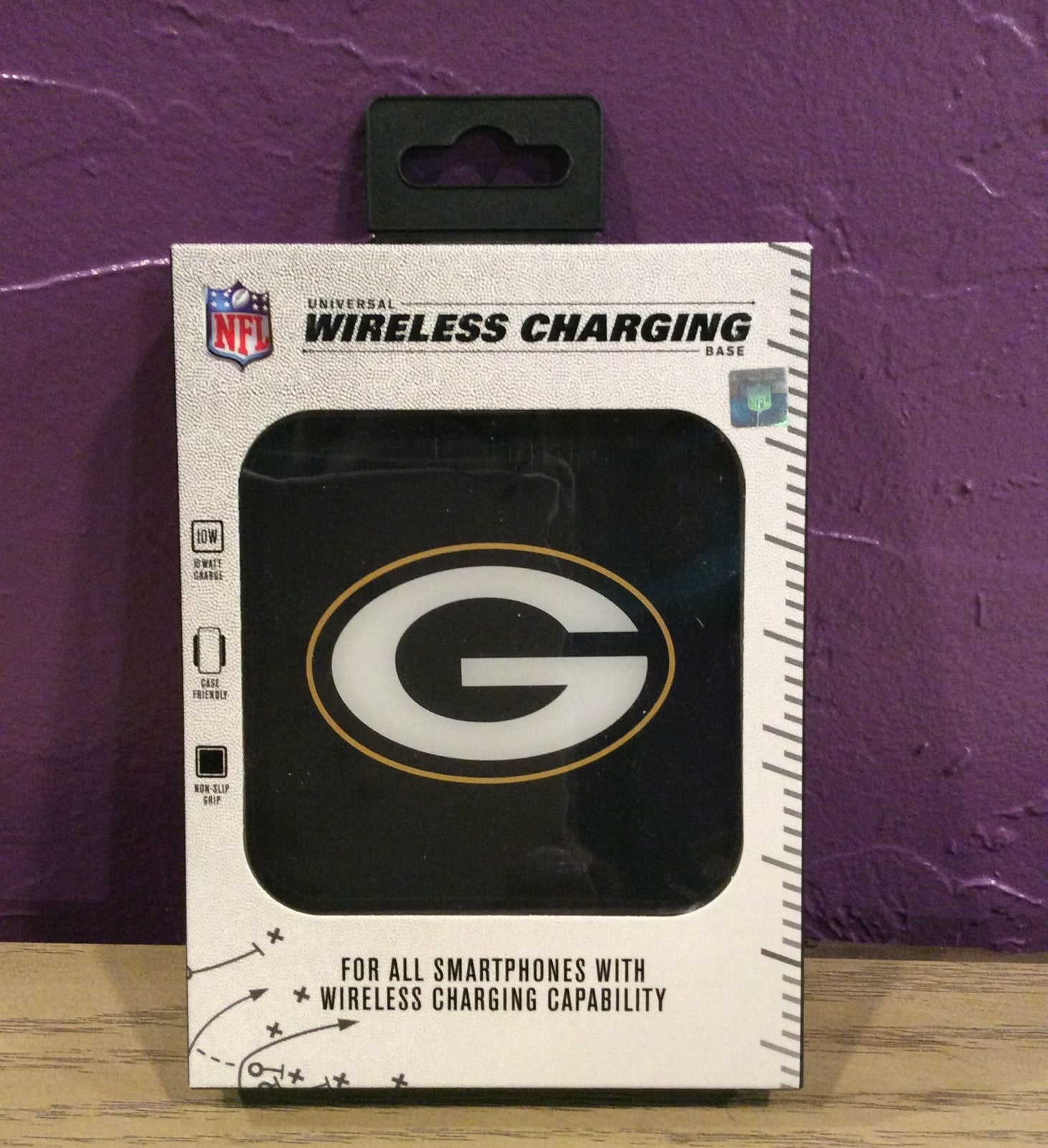 NFL Greenbay Packers Wireless Charger