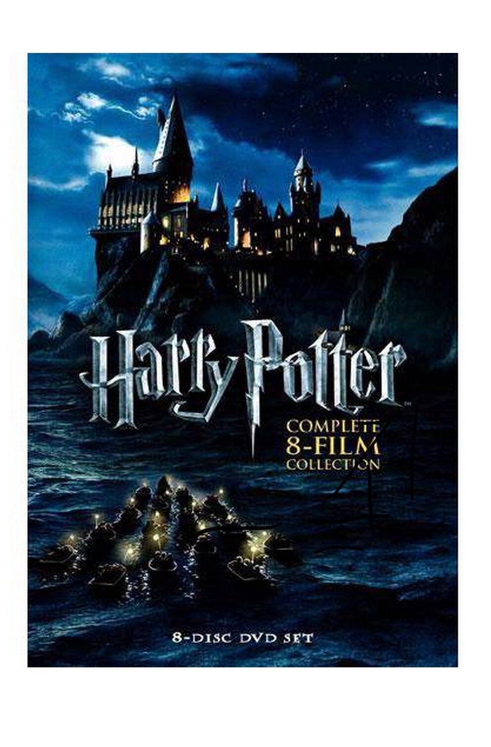 Harry potter complete 8 films collection
