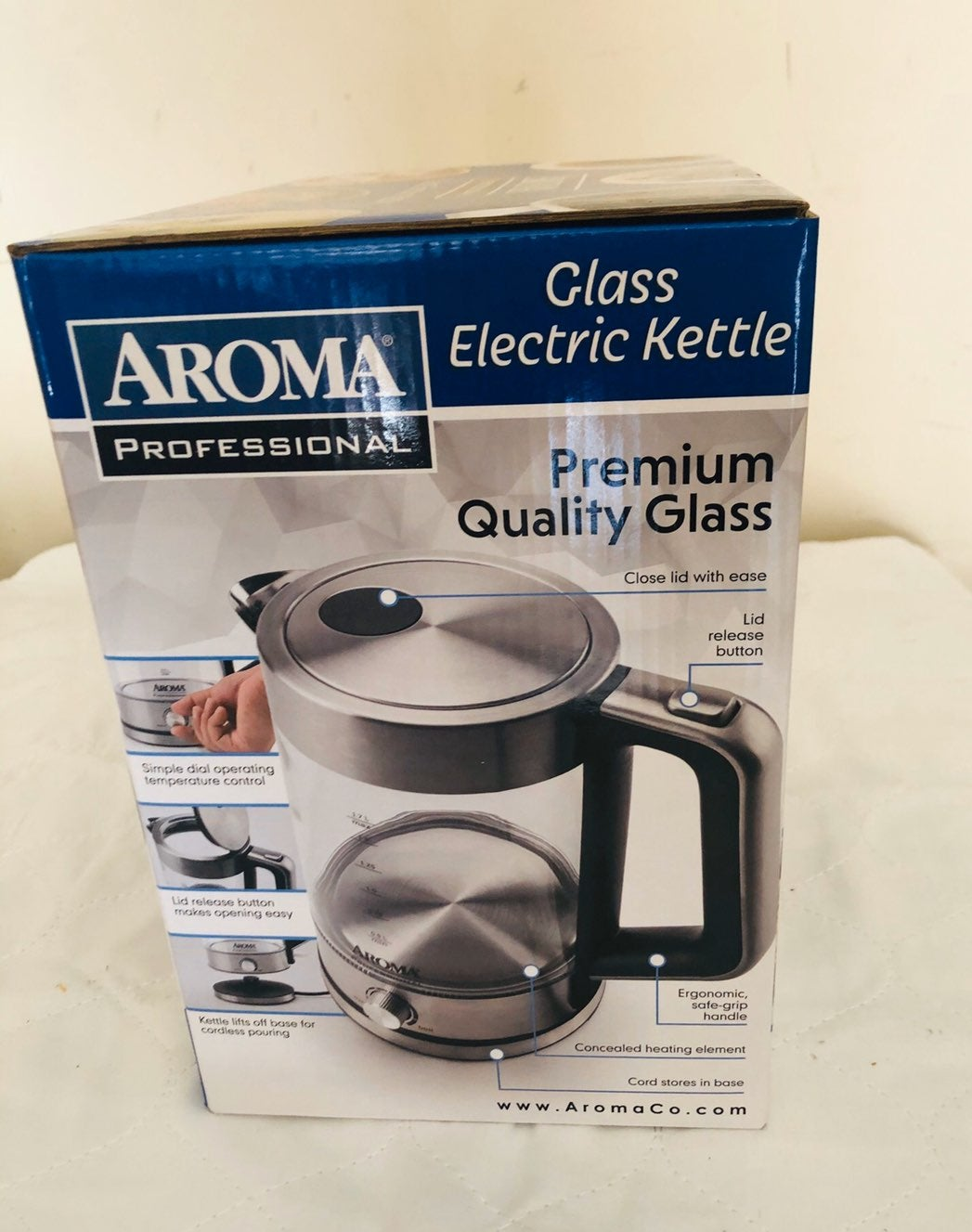 Aroma Glass Electric Kettle