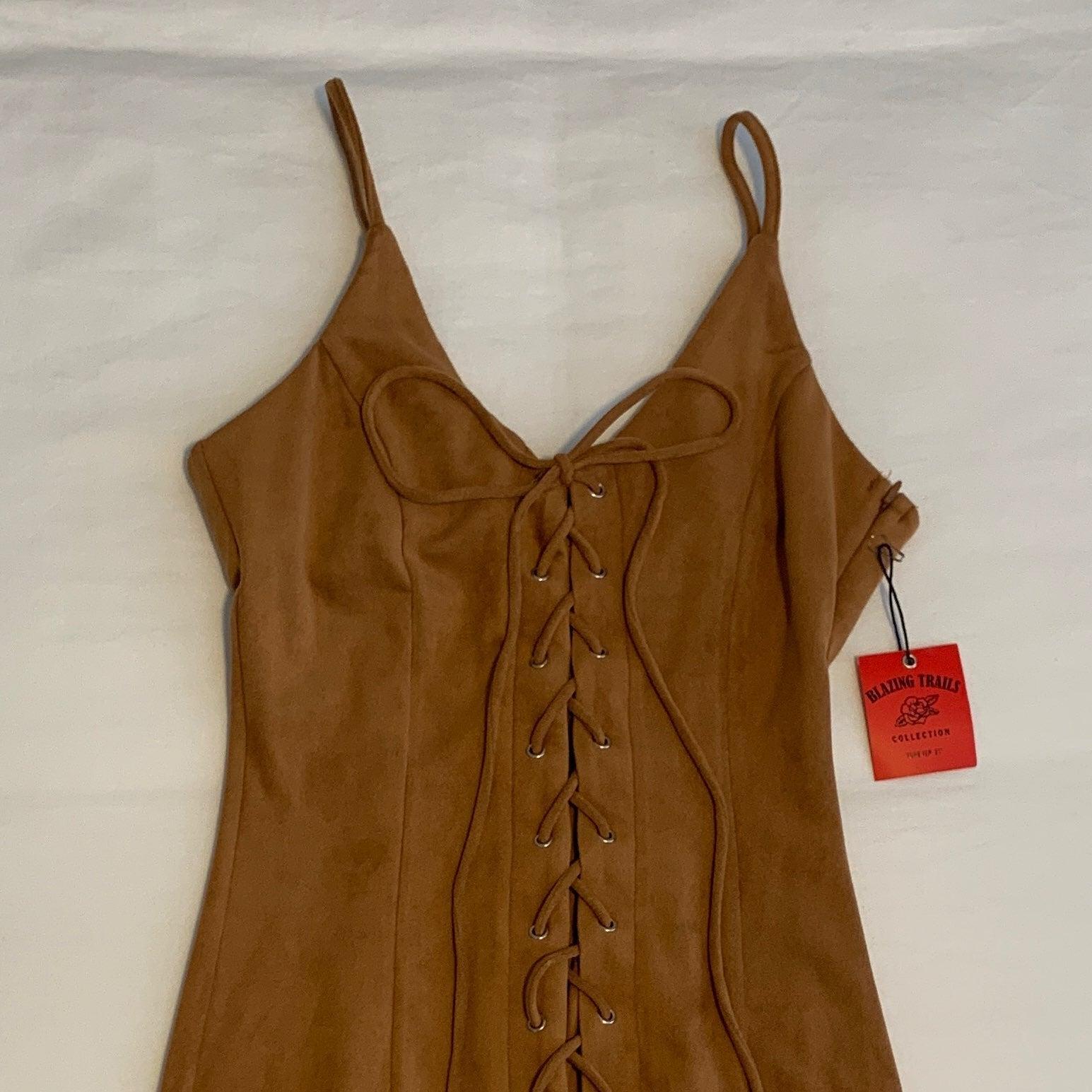 Pleather Dress