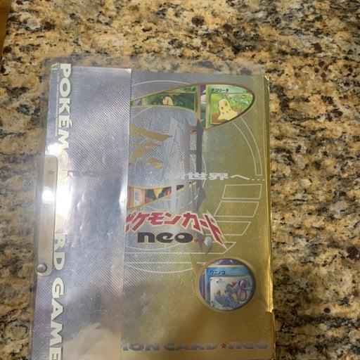Pokèmon Neo Genesis Folder & Cards