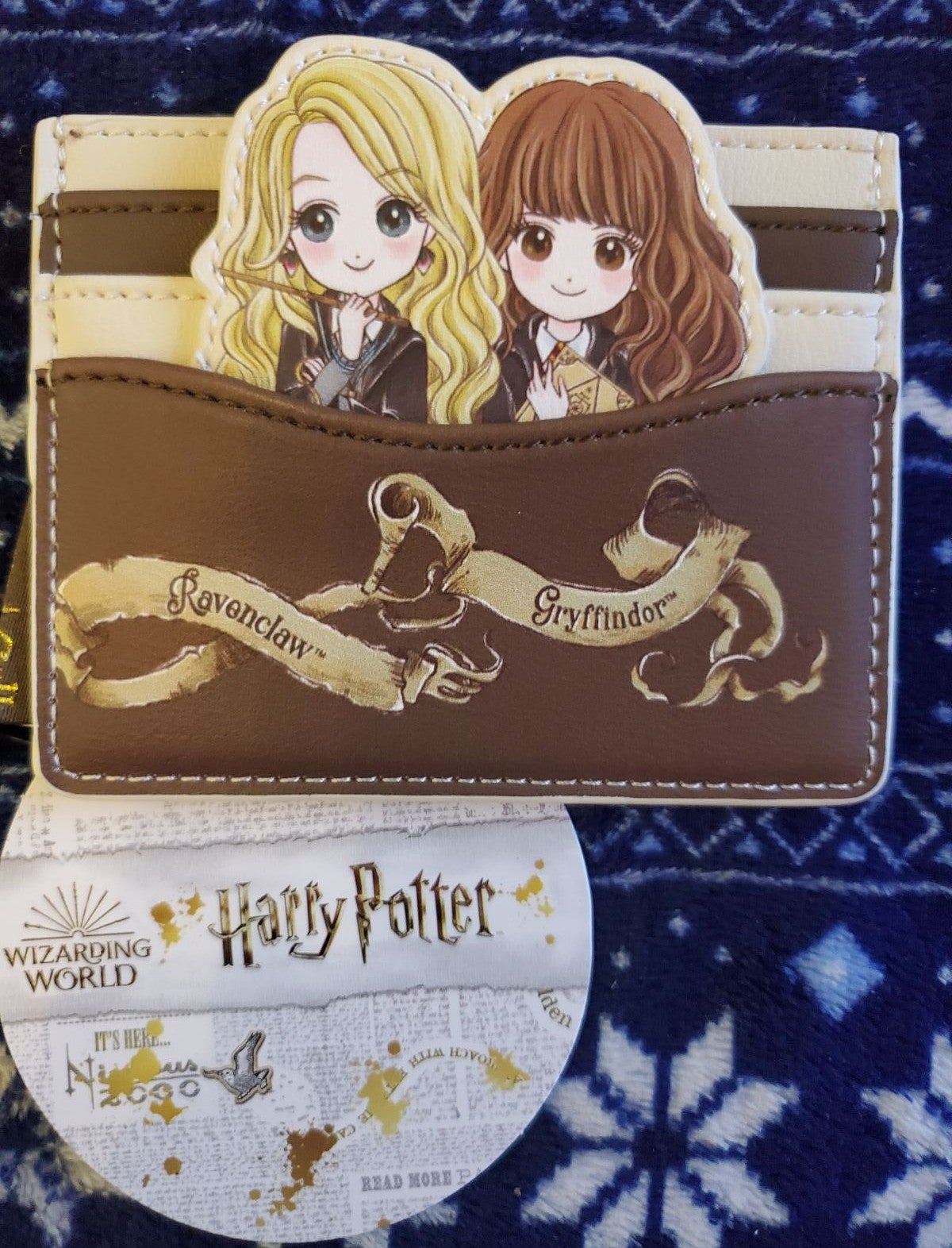 Loungefly Hermine & Luna card holder