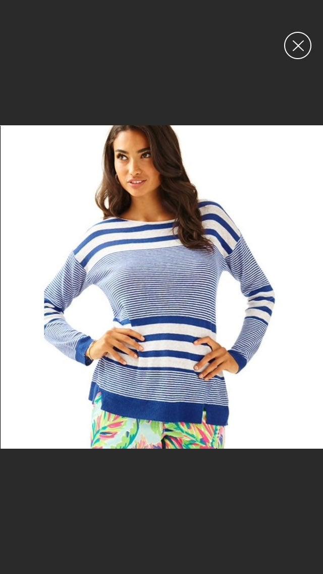 Lilly Pulitzer Camilla Striped Sweater