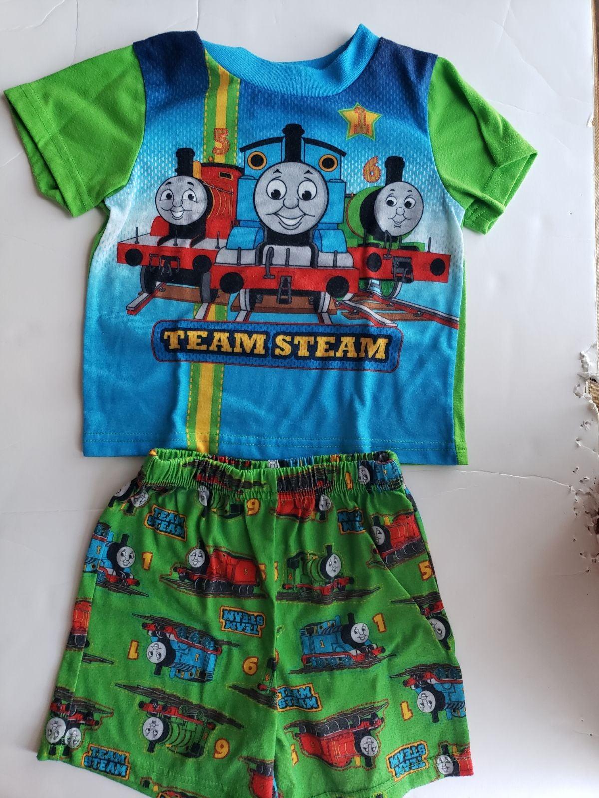 4T Thomas the train pajamas