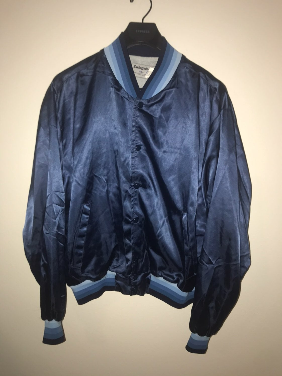 VTG Swingster Satin Bomber Jacket