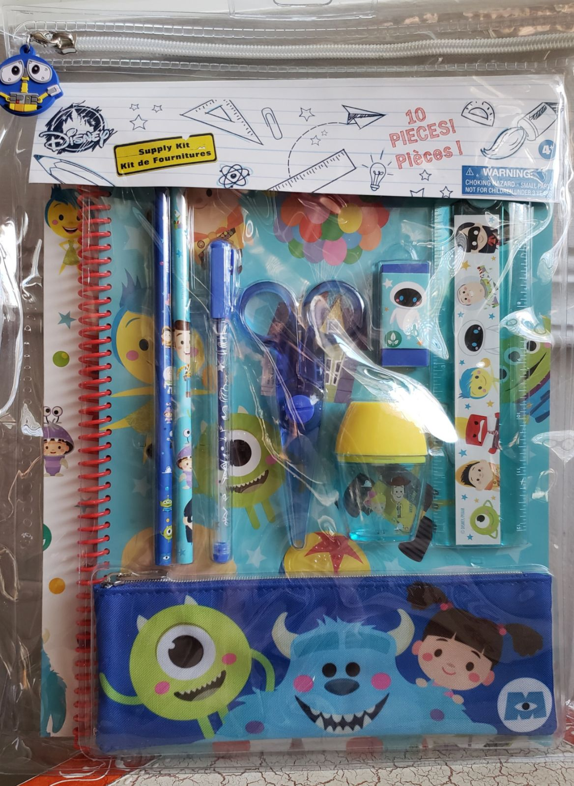Kids' Pixar Stationery Set