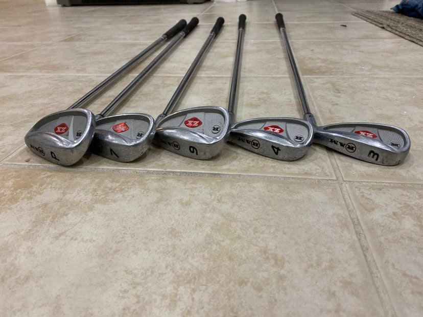 RAM ZX Tour Golf Set 3, 4, 7, 9, P Irons