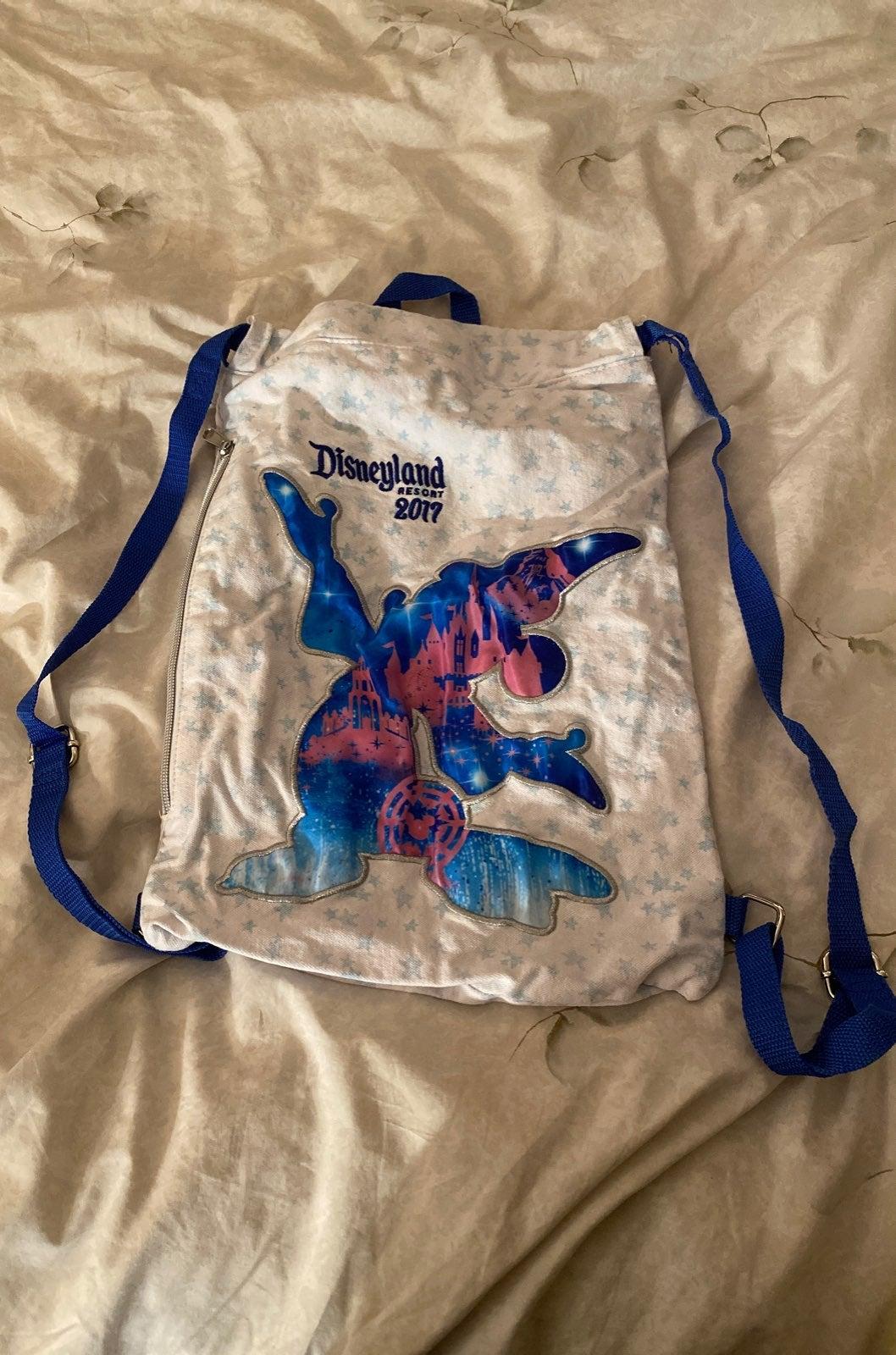 Disney backpack drawstring