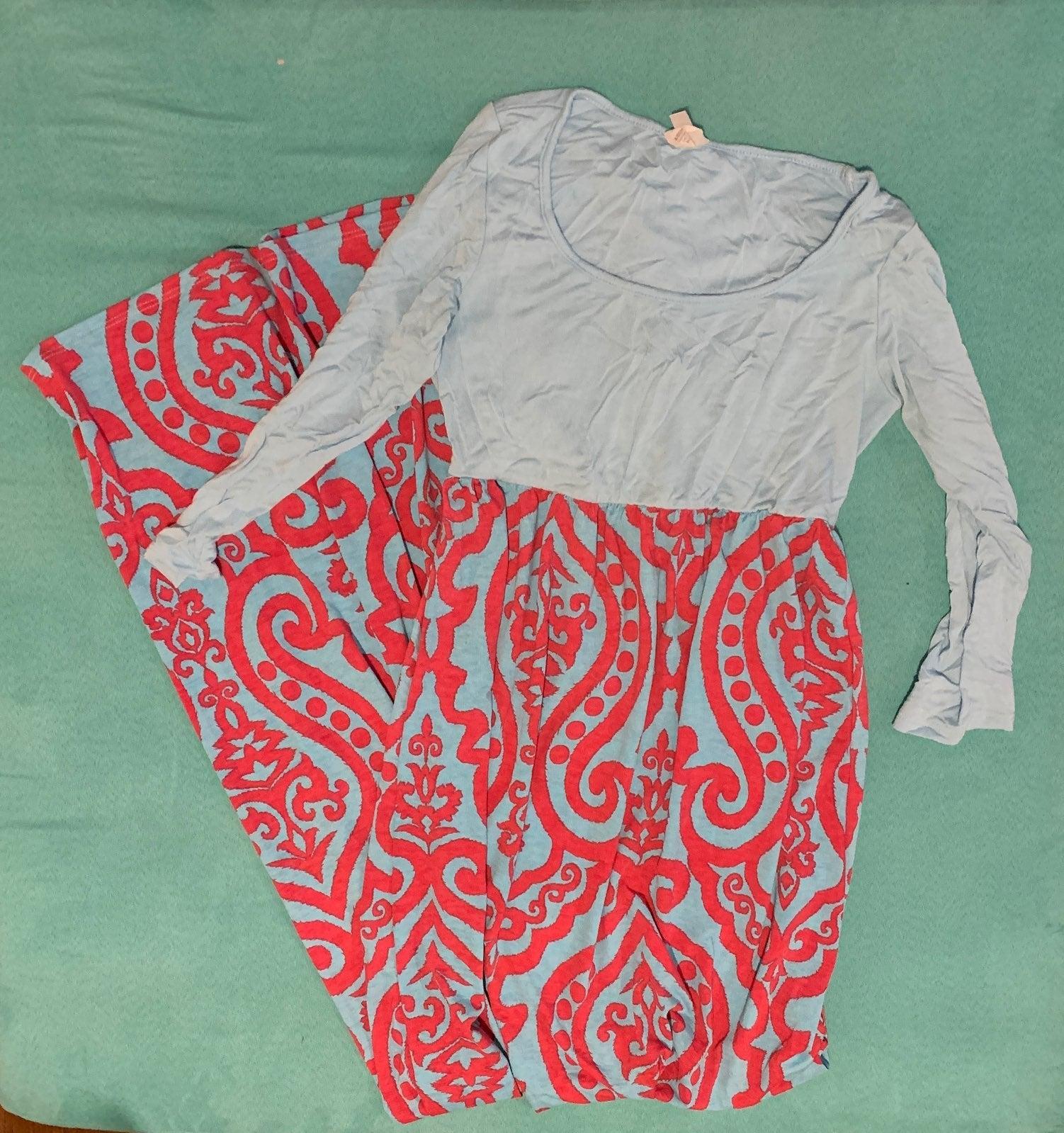 pinkblush maternity maxi dress SMALL
