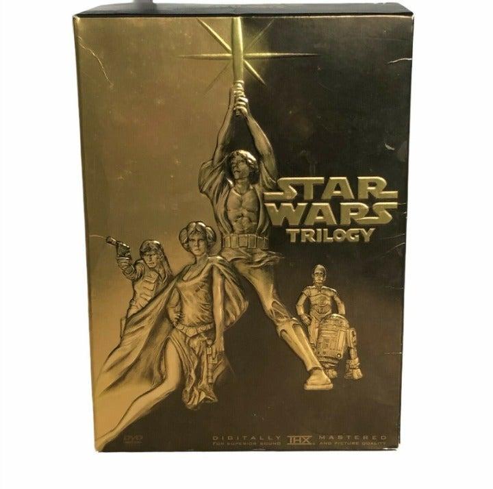 Star Wars Trilogy (DVD, 2004, 4-Disc Set