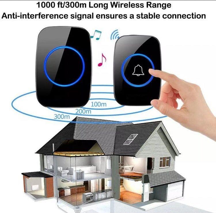 New 1000FT Wireless Doorbell Waterproof