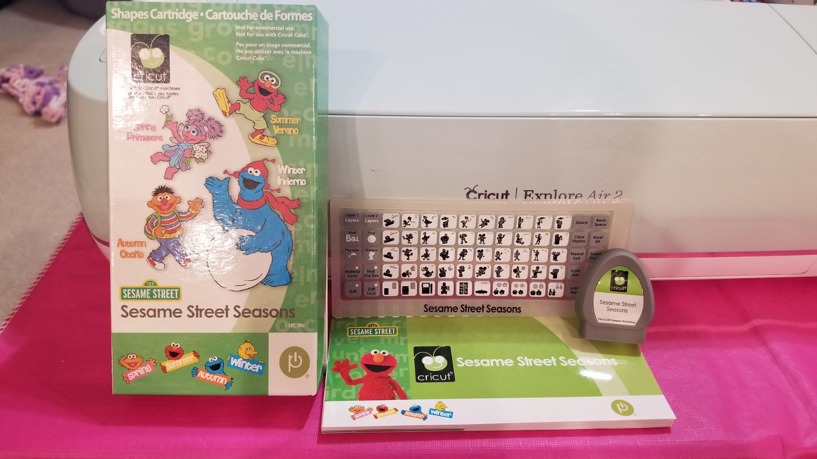 Sesame Street Seasons UNLINKED Cricut