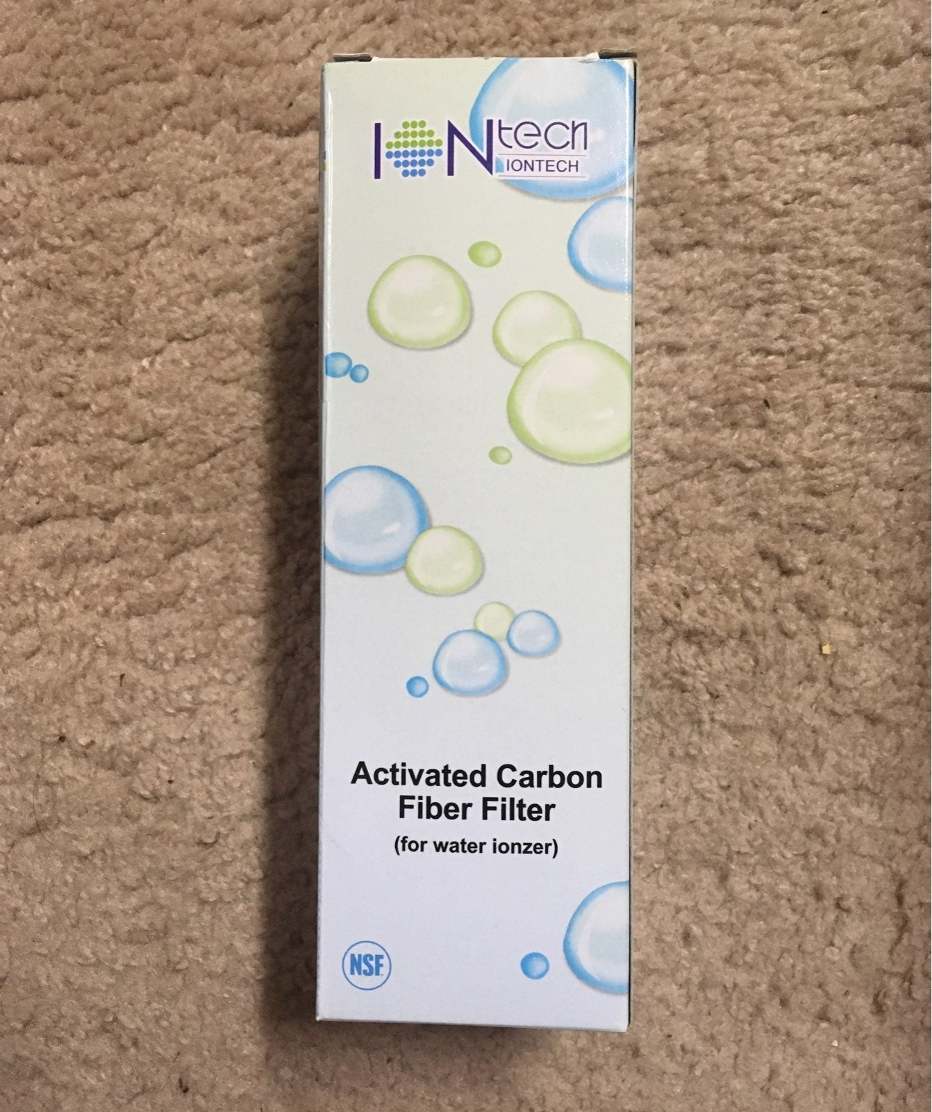IONTECH ALCALINE WATER IONZER FILTER