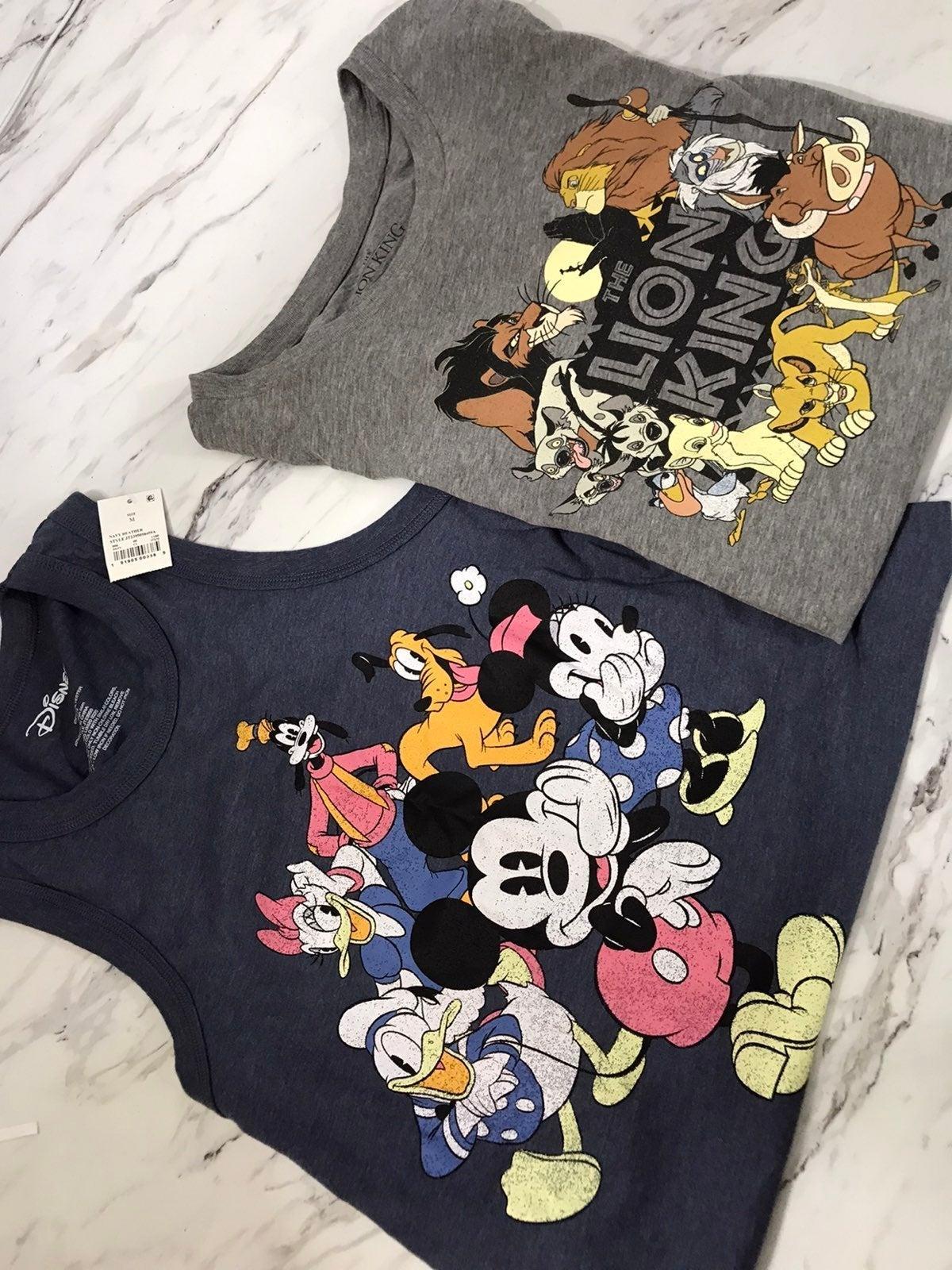 Disney Mickey Lion King Shirt Tanktop