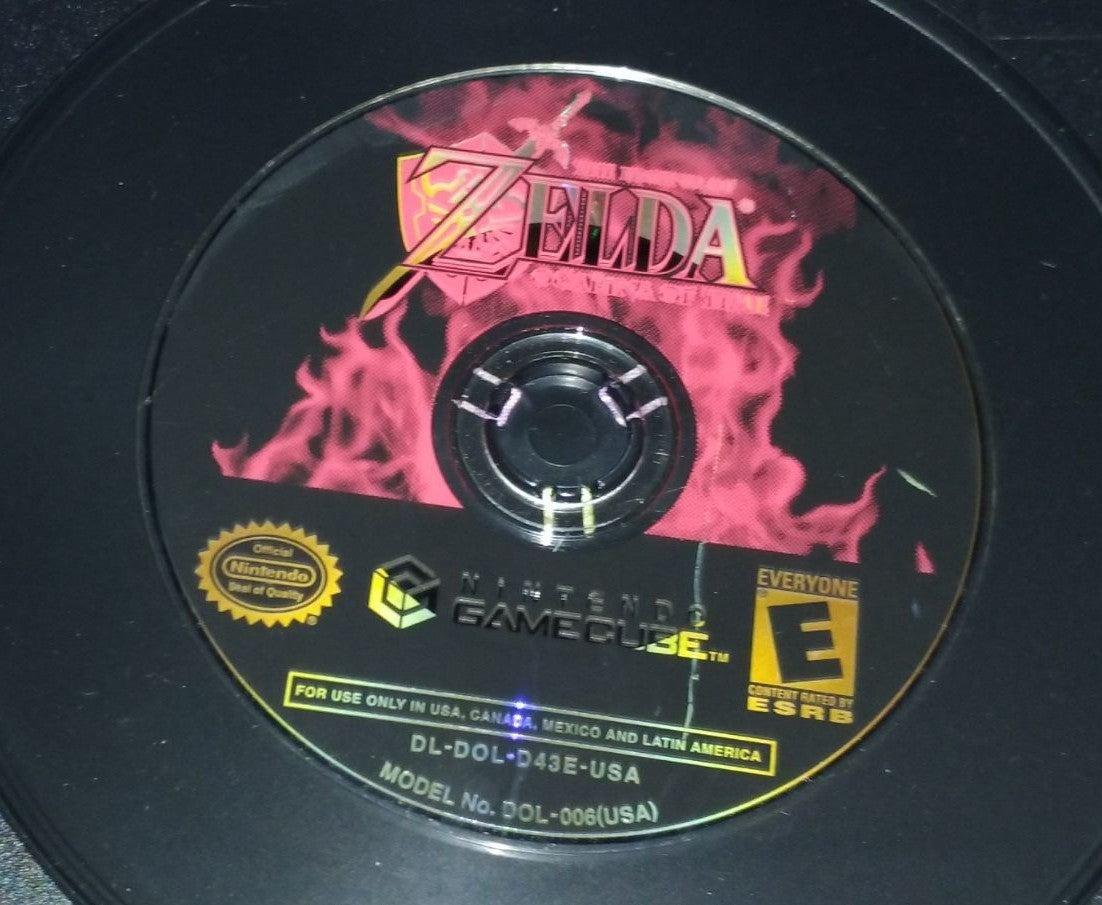 The Legend of Zelda gamecube game