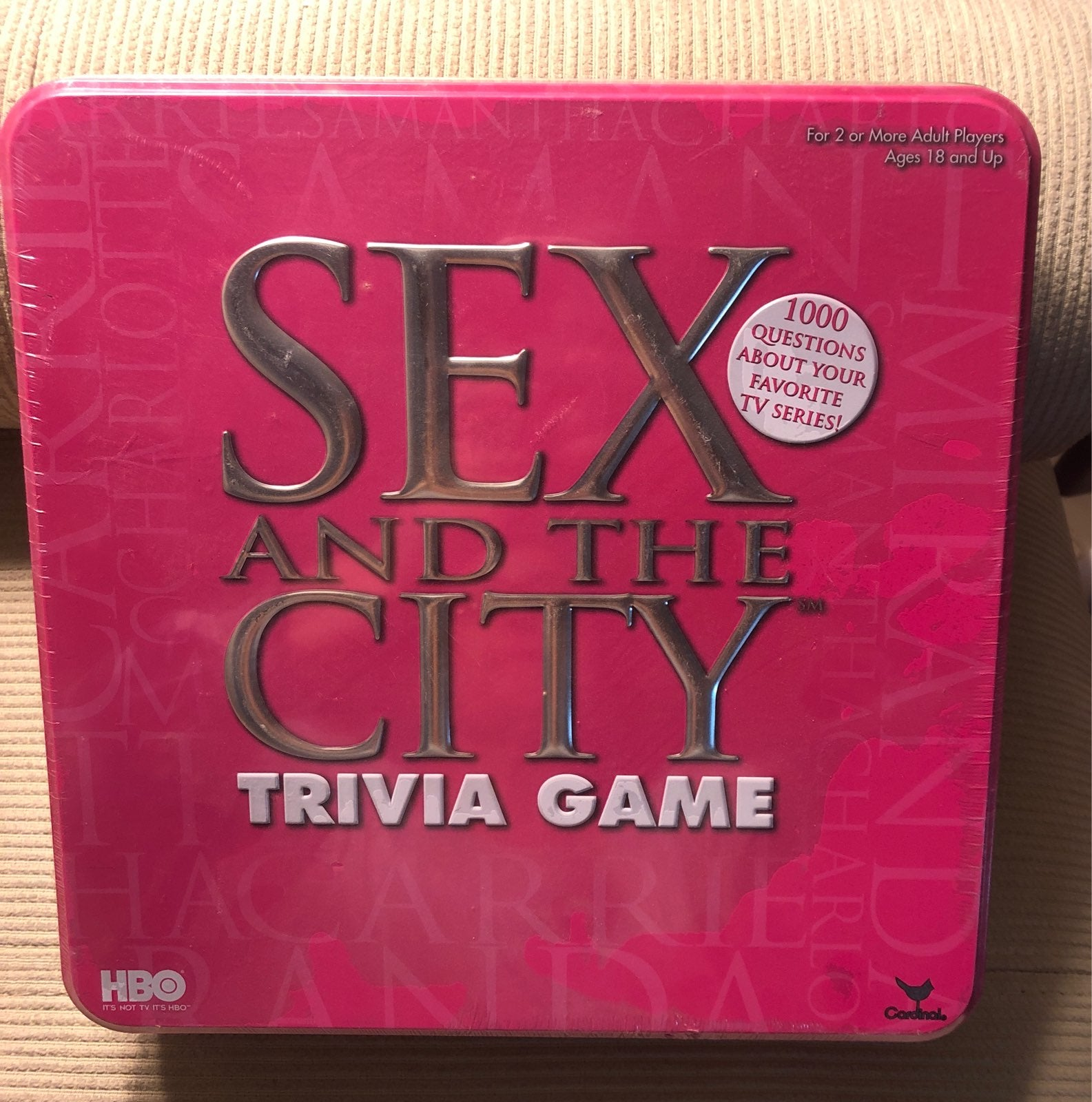 Sex In The City Trivia Game Sealed