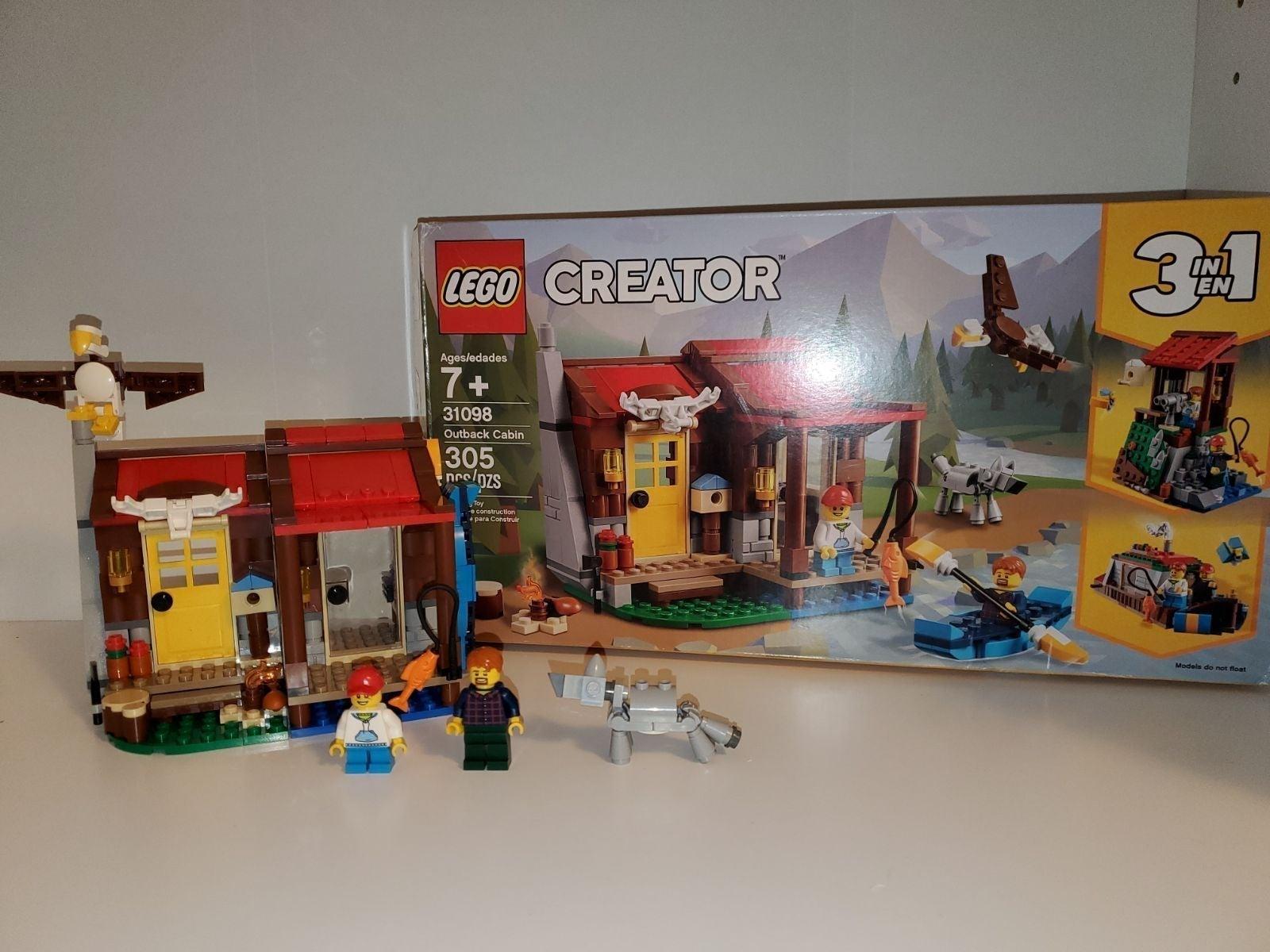 LEGO Creator 3-in-1:  Outback Cabin