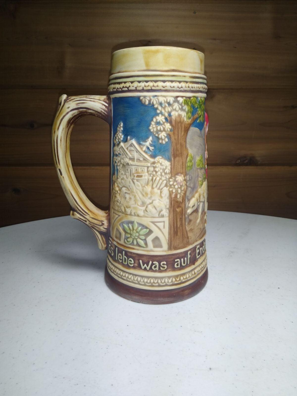 Holland Mold Beer Stein Mug Vintage