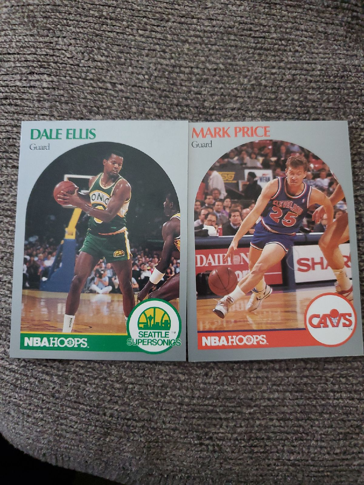 NBA Hoops cards early 80 cards