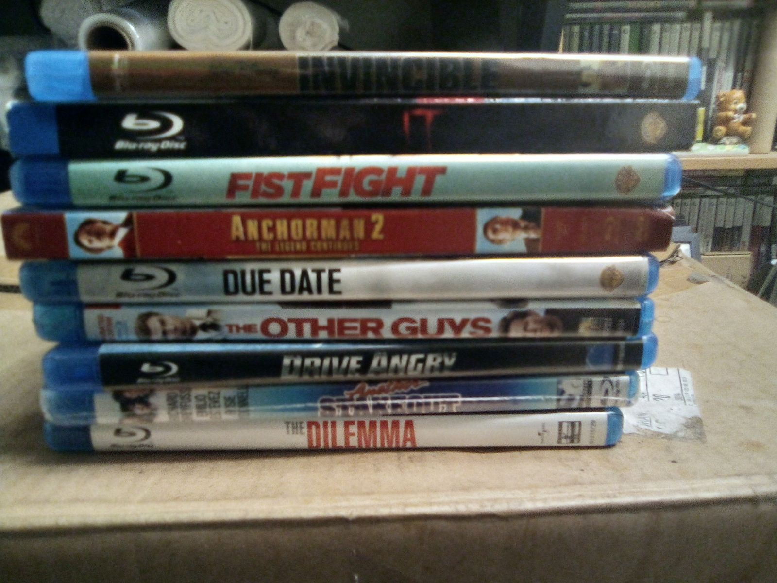 9 blu ray movies