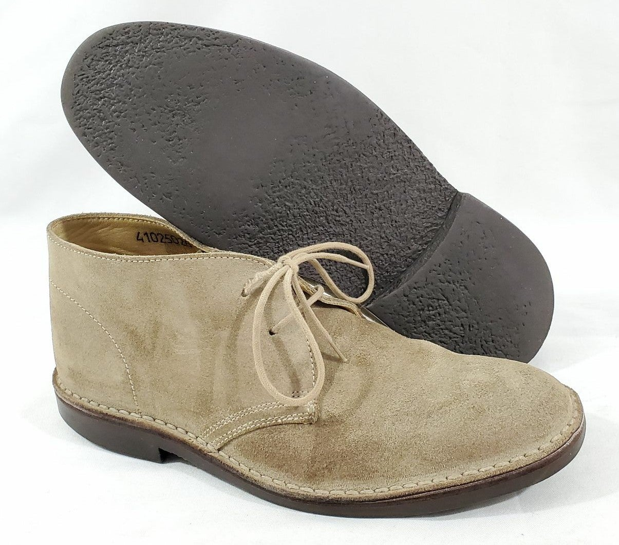 Brooks Brothers Peal Co Mens Suede Boots