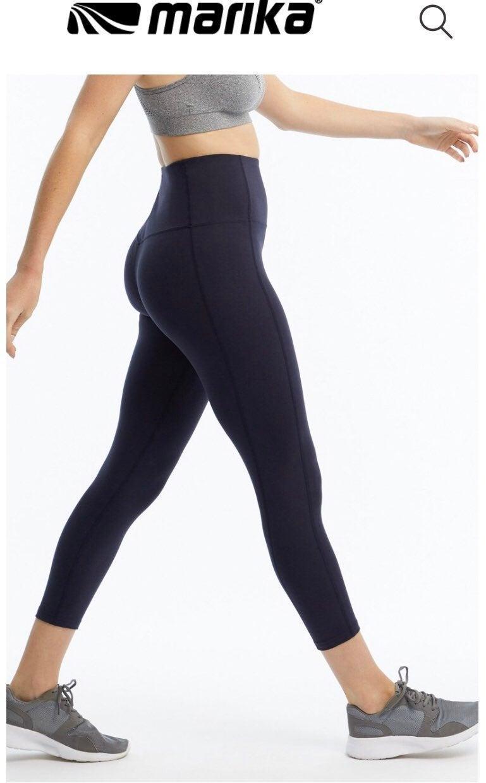Black sports leggings