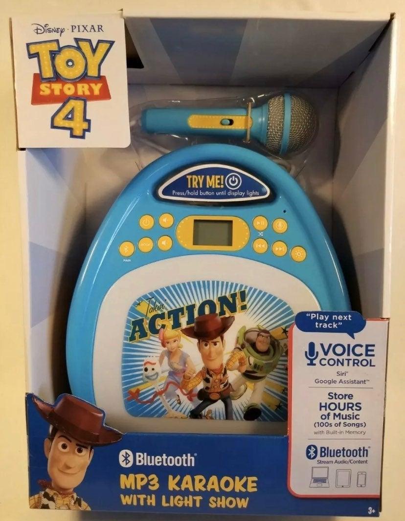 Toy Story 4 Karaoke Machine w/ Bluetooth