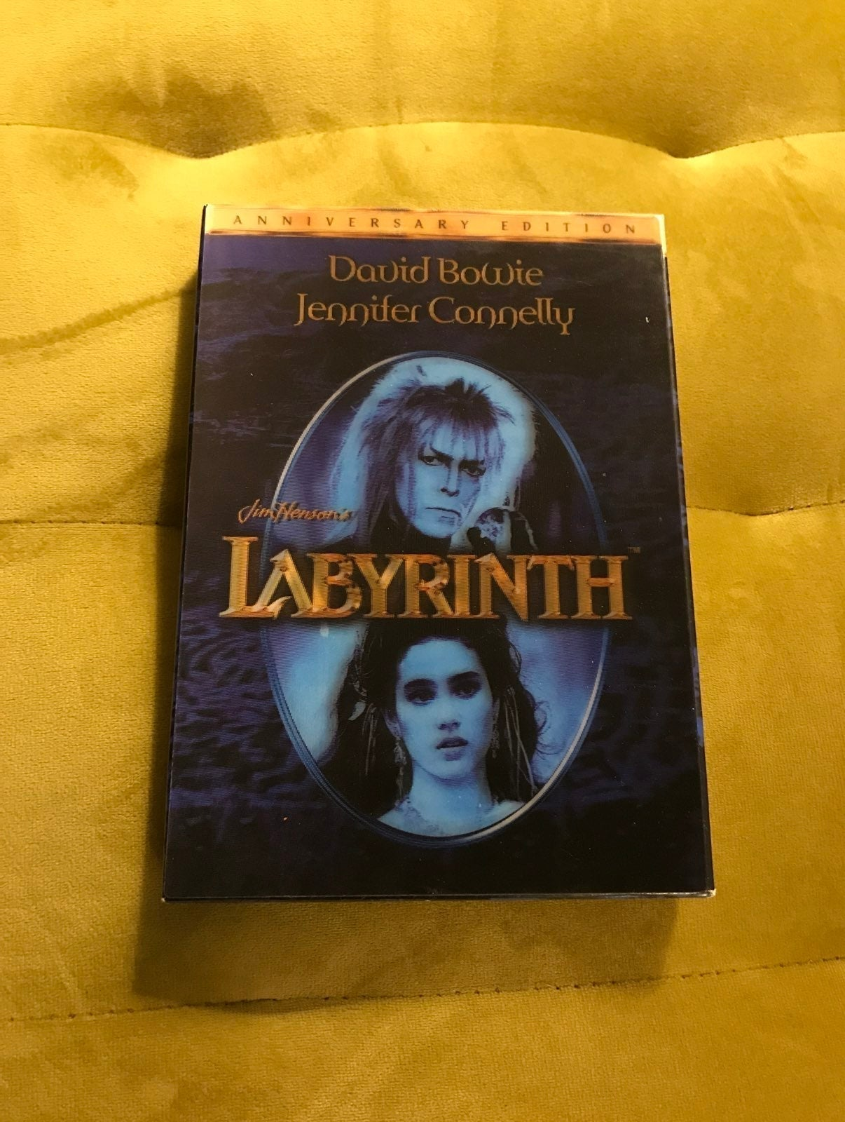 Labyrinth a Lucas-Henson-David Bowie DVD