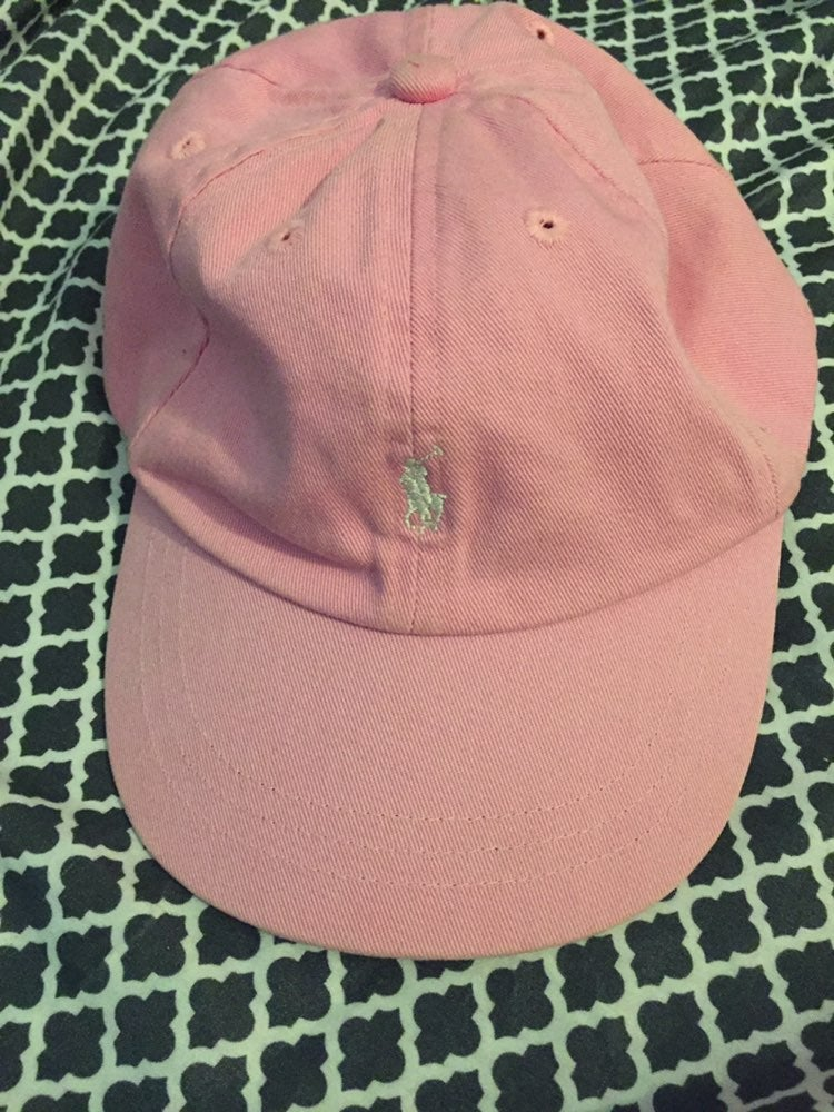 Polo Hat Pink Toddler Small Ralph Lauren