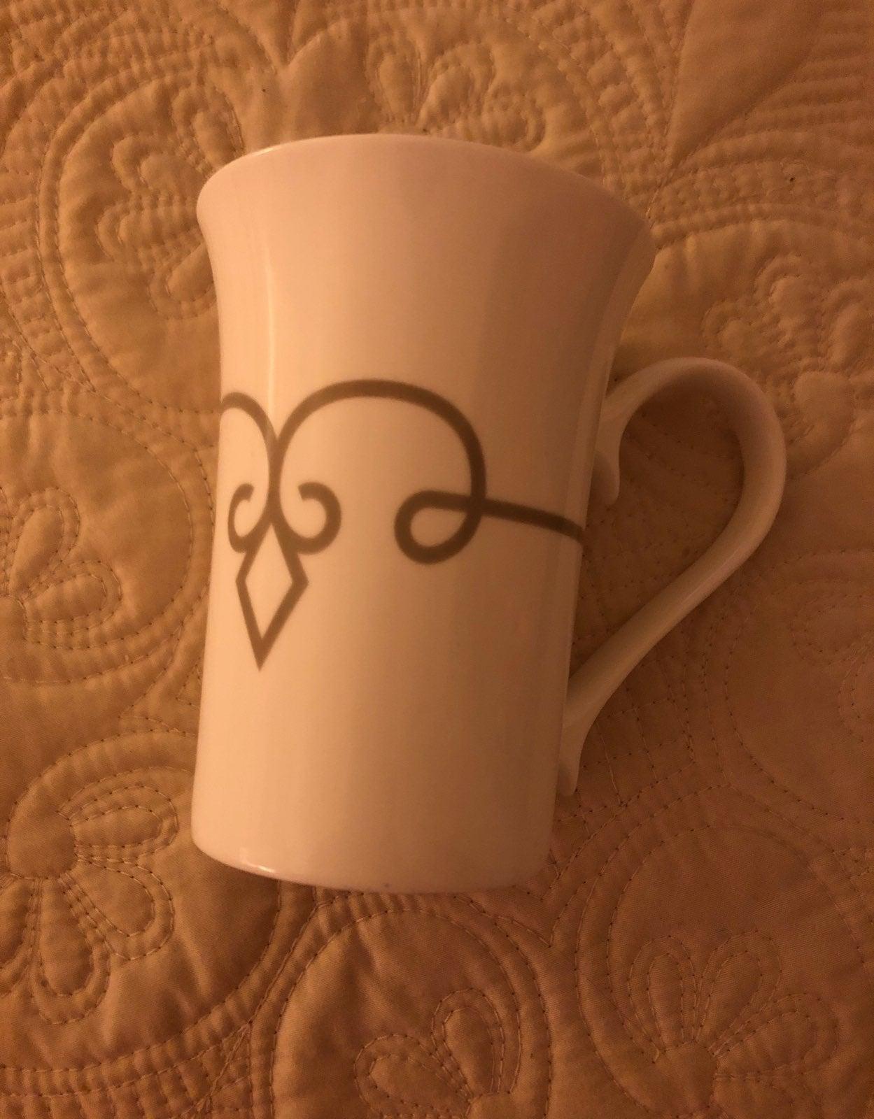 Starbucks 2014 Coffee Mug cream color wi