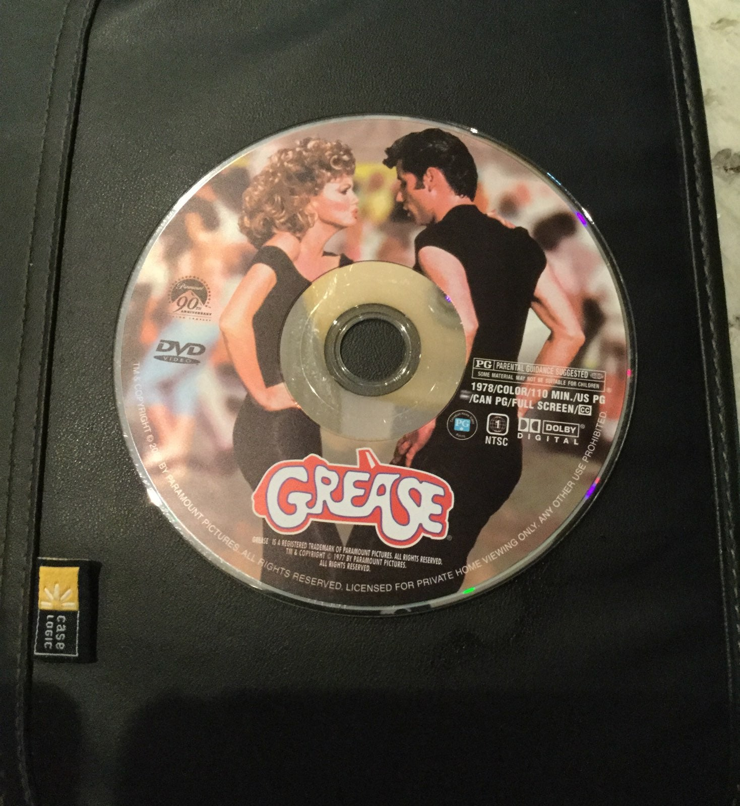 Grease on DVD
