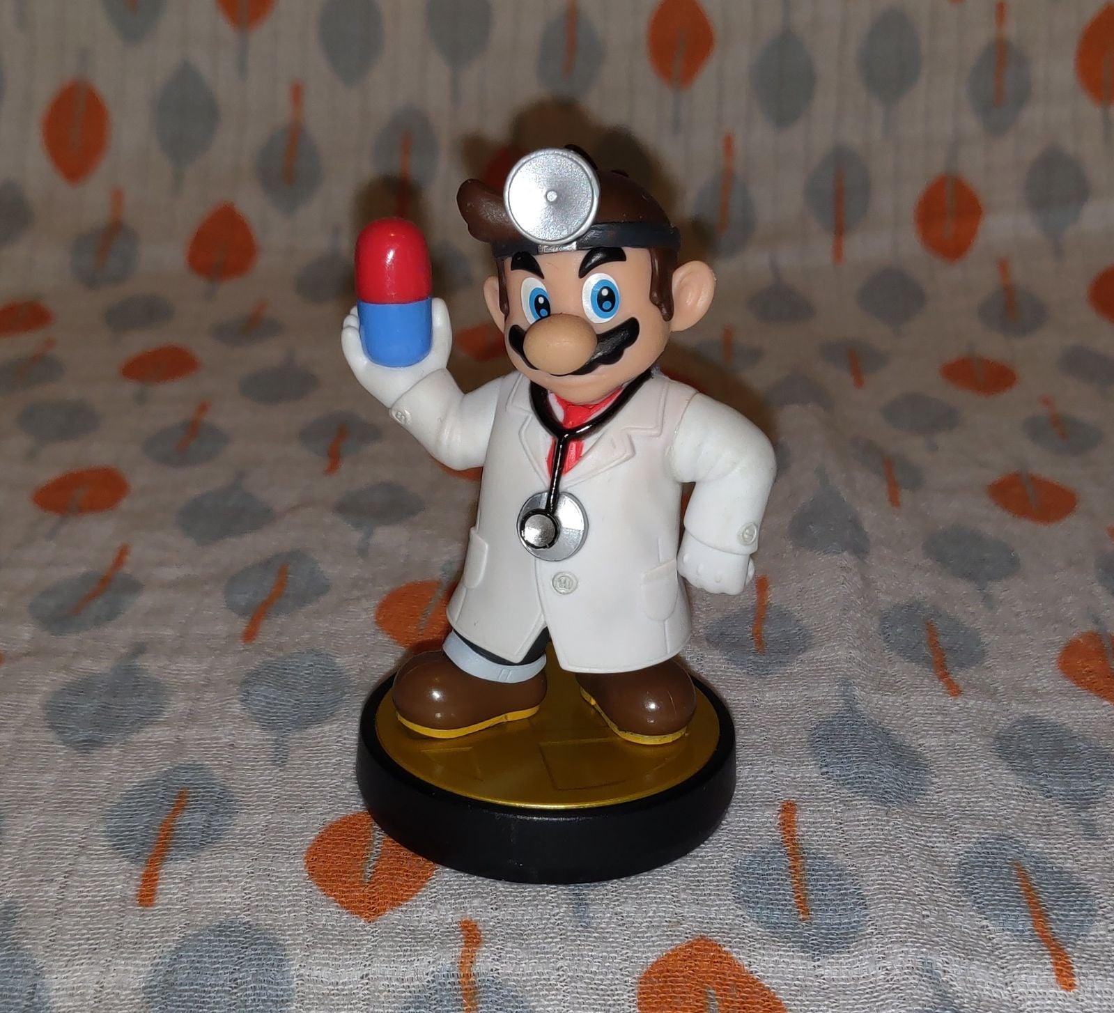 Super Smash Bros. Dr Mario Amiibo