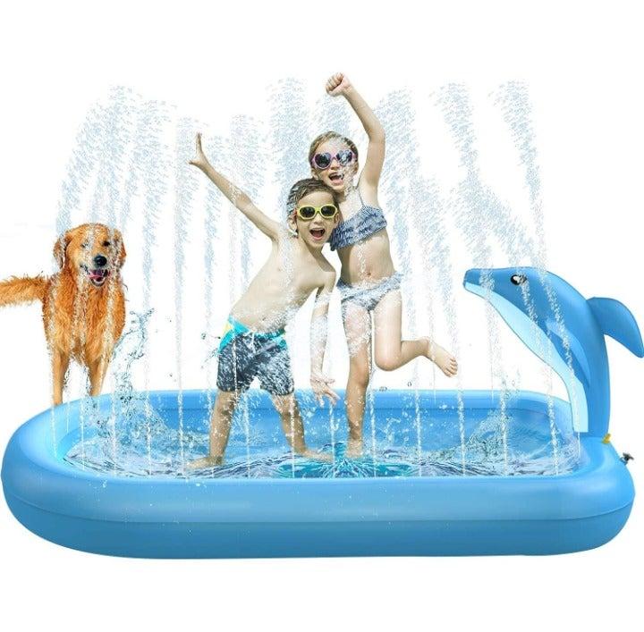 Non-Slip Splash Pad Inflatable Sprinkler