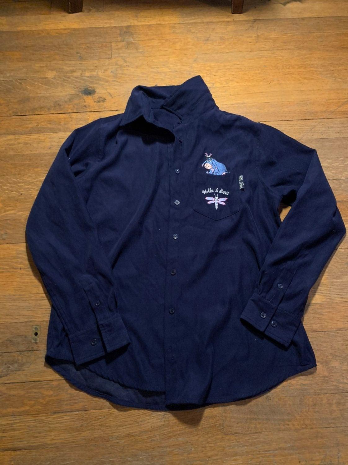 Vintage Disney Eeyore Button Up Shirt