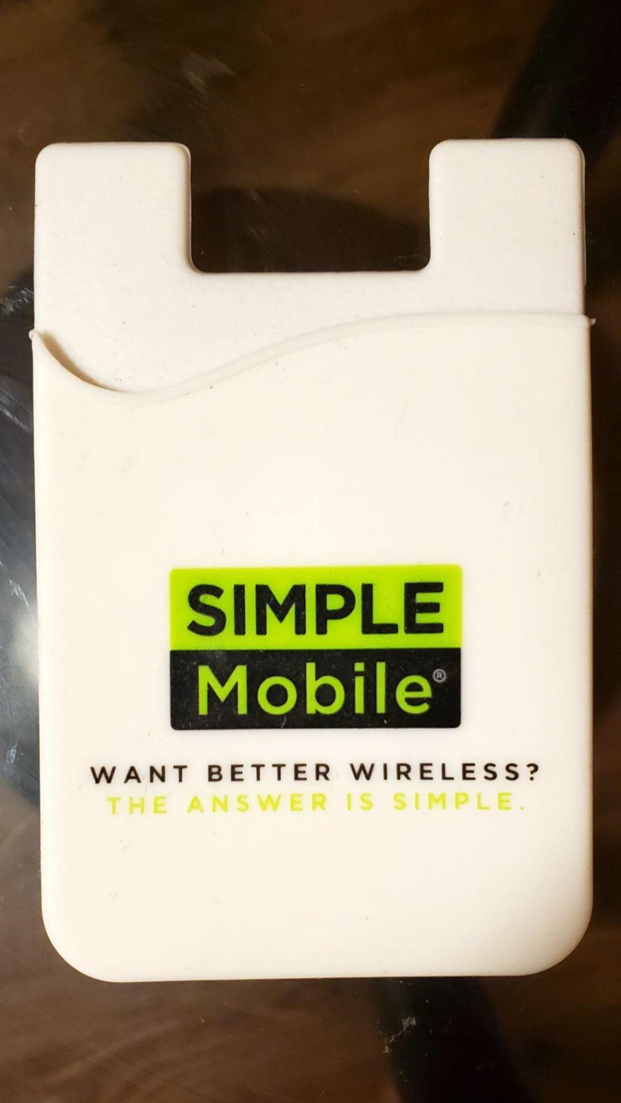 Simple Mobile Phone Sleeve