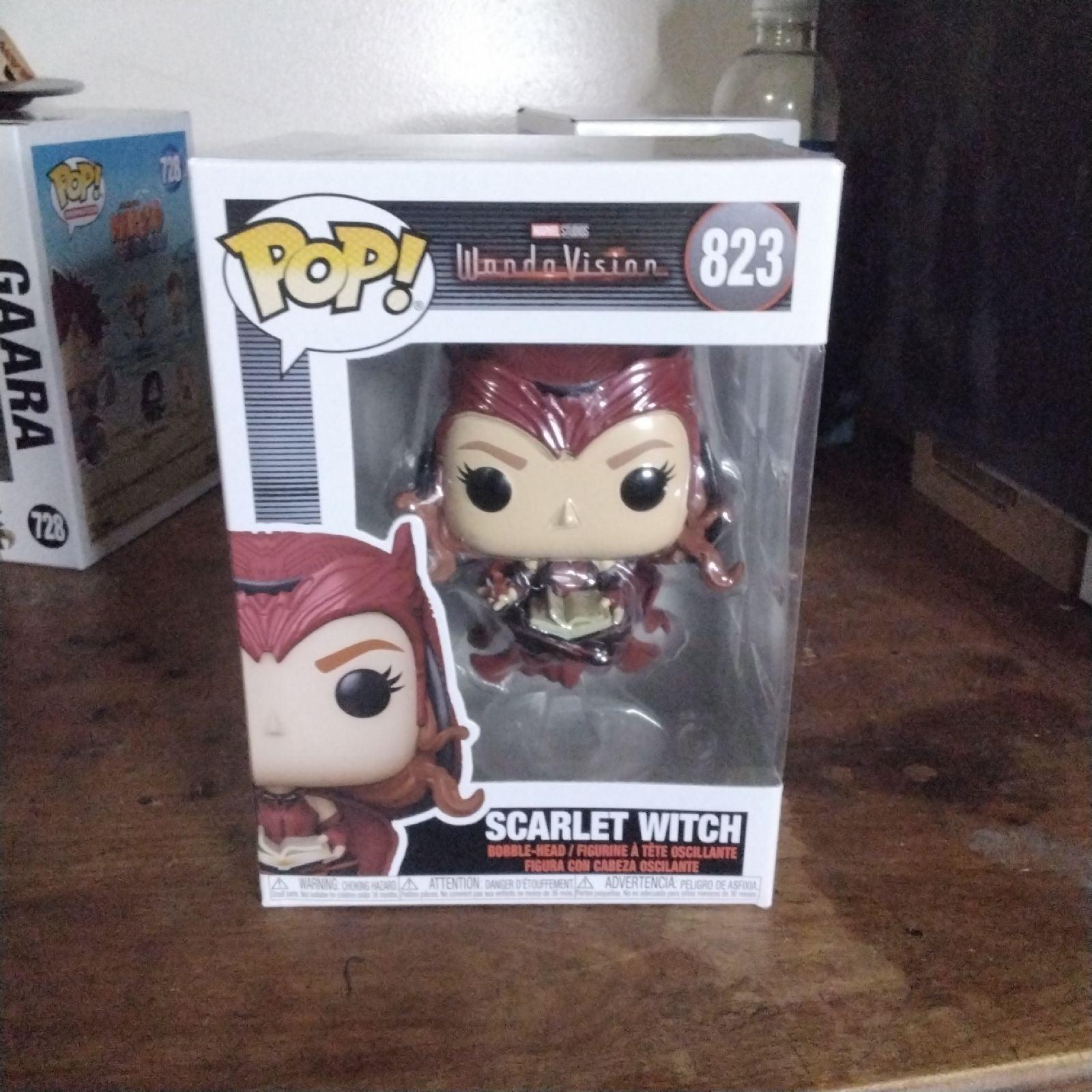 Scarlet witch Funko Pop 823 wandavision