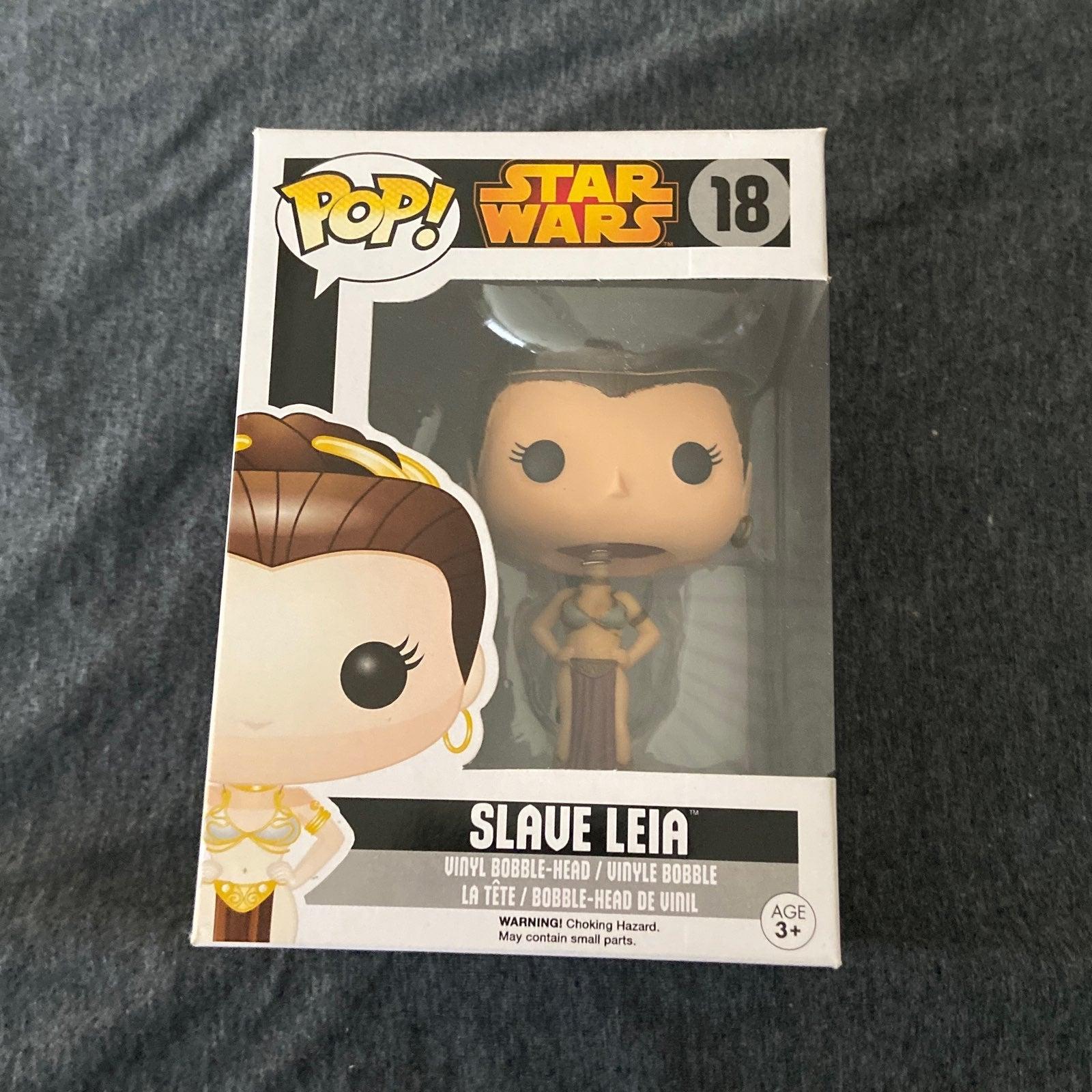 Star Wars Leia Organa (Slave) Funko Pop