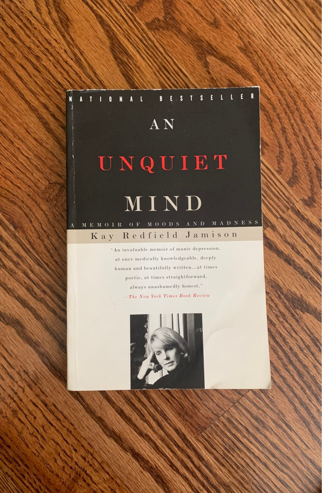 An Unquiet Mind by Kay Redfiled Jamison