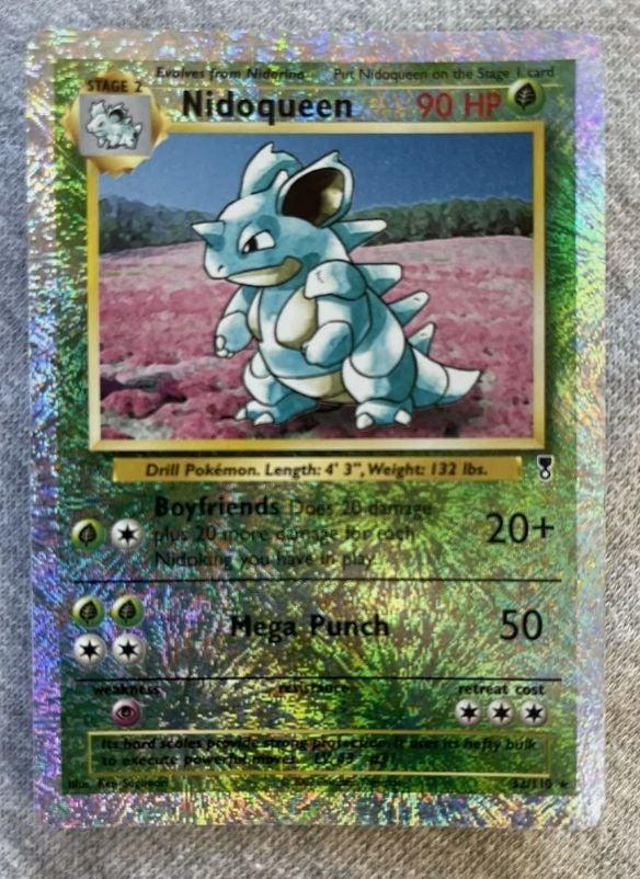 Nidoqueen Reverse Holo 32/110 Pokemon