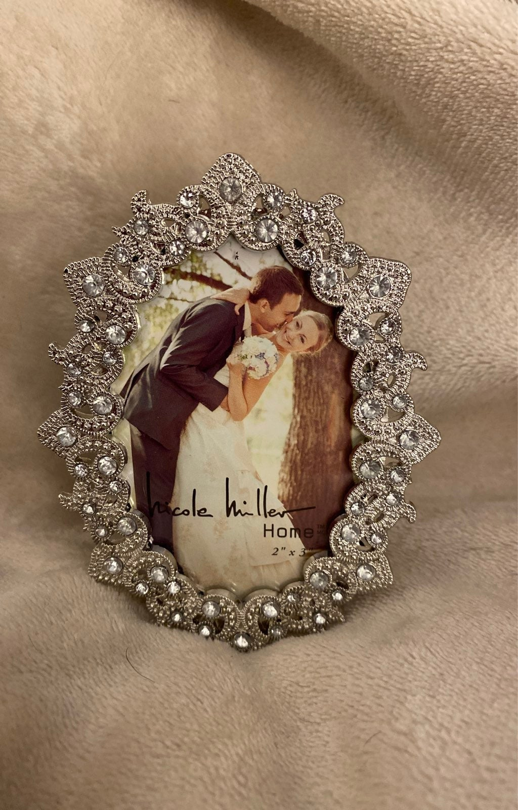 Nicole Miller Small Photo Frame