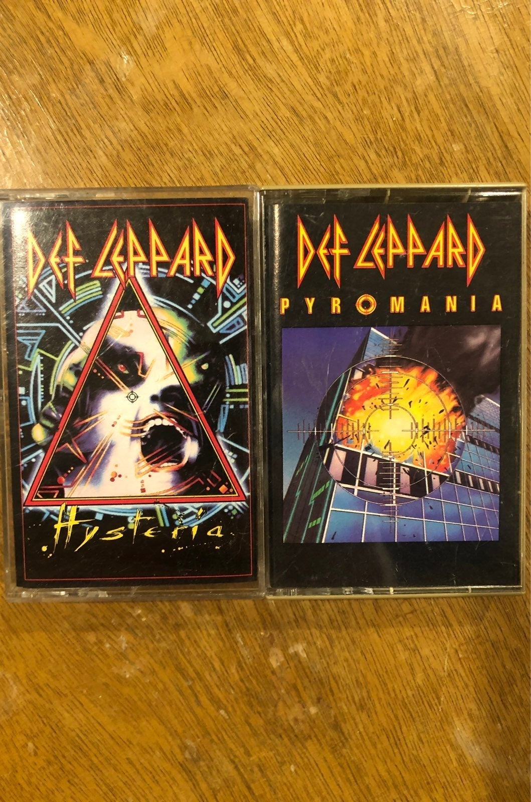 Def Leppard tapes